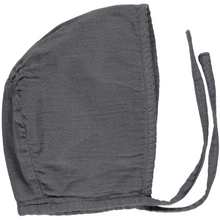Organic Cotton Bonnet - Iron Gate