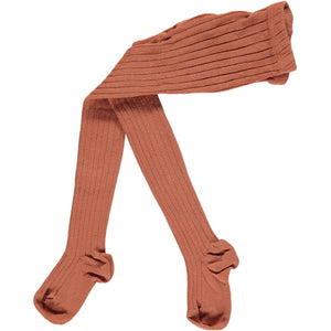 Ribbed Tights, Pumpkin Spice