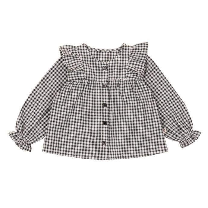Nancy Blouse in Gingham