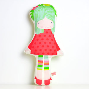 Spring Softie Doll