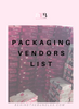 Hair Packaging and Label Vendors - Behind The Bundles | Hair Vendor Lists | Hair Extension Vendors | Beauty Vendors | Hair Drop shipping
