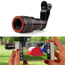Universal Phone Camera 8X Lens Telescope Camera Lens HD 8X Optical Zoom Telescope Lens with Universal Clip for Mobile Phones