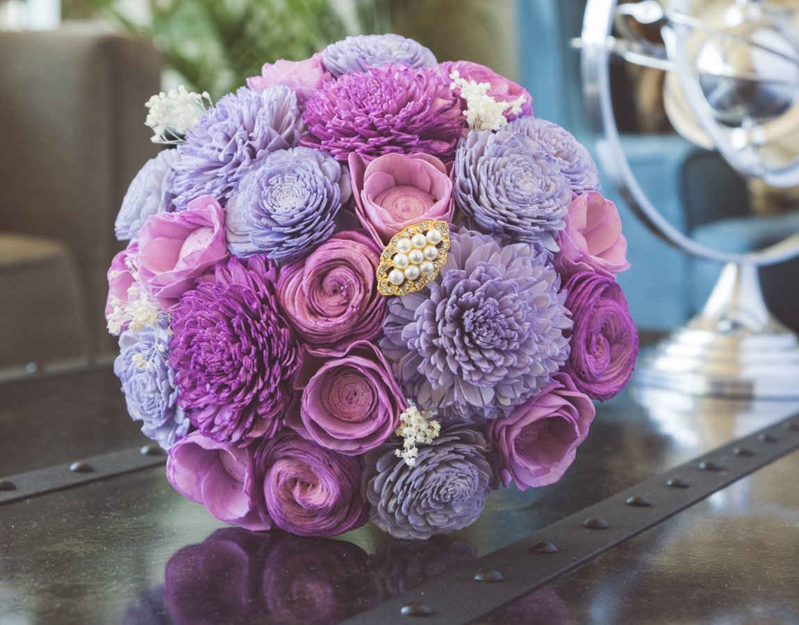 Sola Wood Flower Bouquets - Just a Fairytale - Luv My Flowers - Luv ...