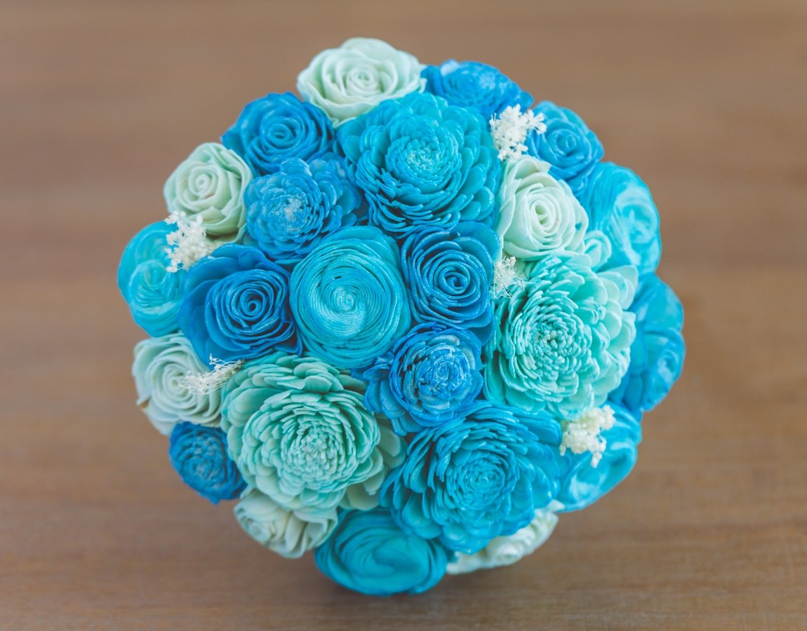 Sola Wood Flower Bouquets-Love You to the Moon & Back