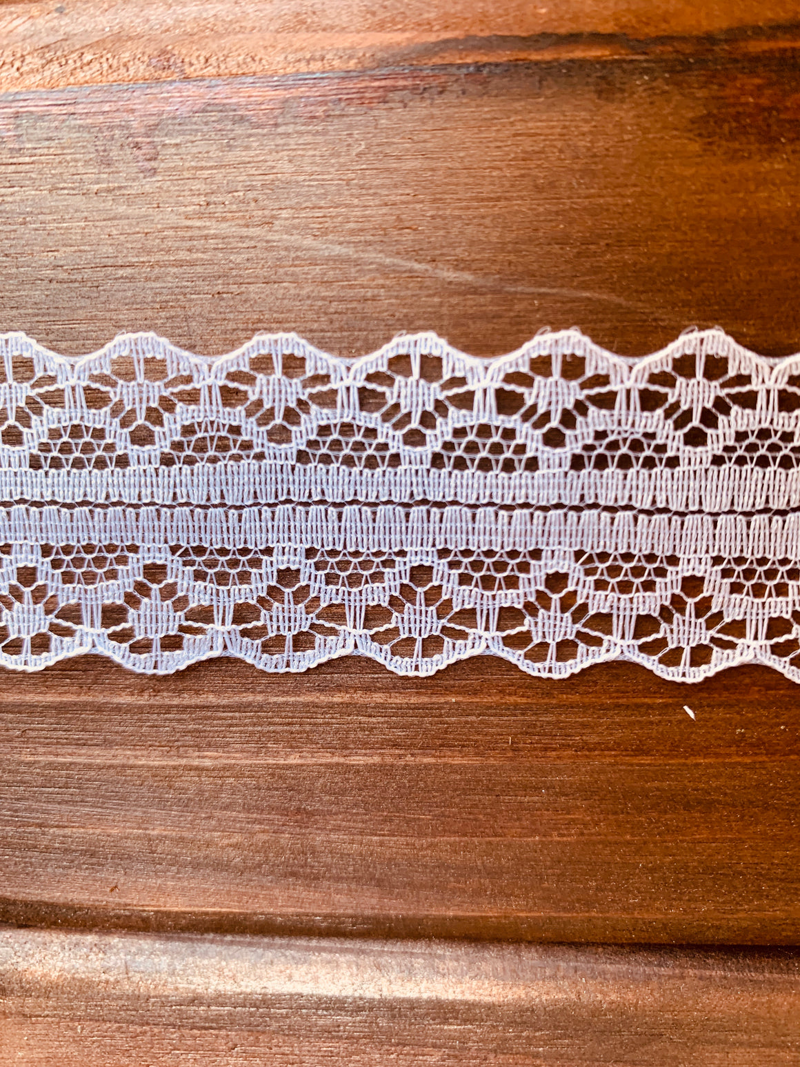 White Lace Ribbon (10 Yards)