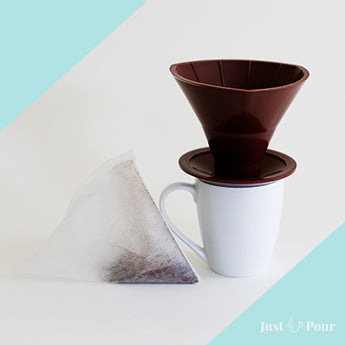 Just Pour 6 Pre-Filled Coffee Filter Add-on