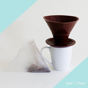 Just Pour Coffee Dripper and Filters