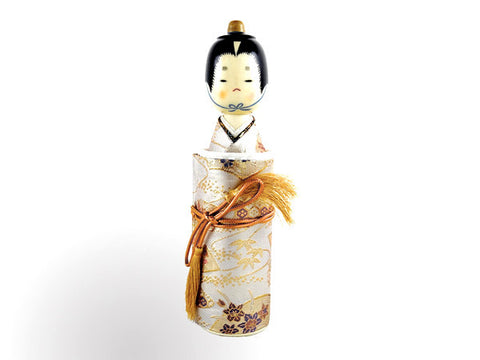 Sayonara Doll  Style 3 (male) White with Gold Design
