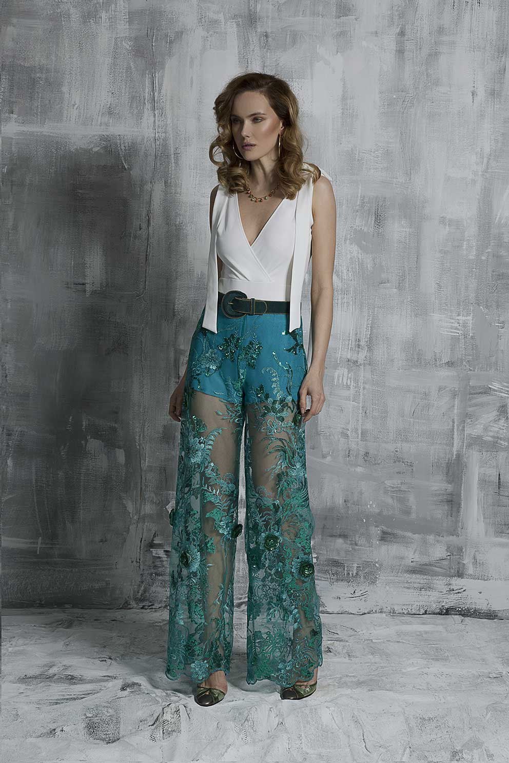 Sheer Elegance Trousers