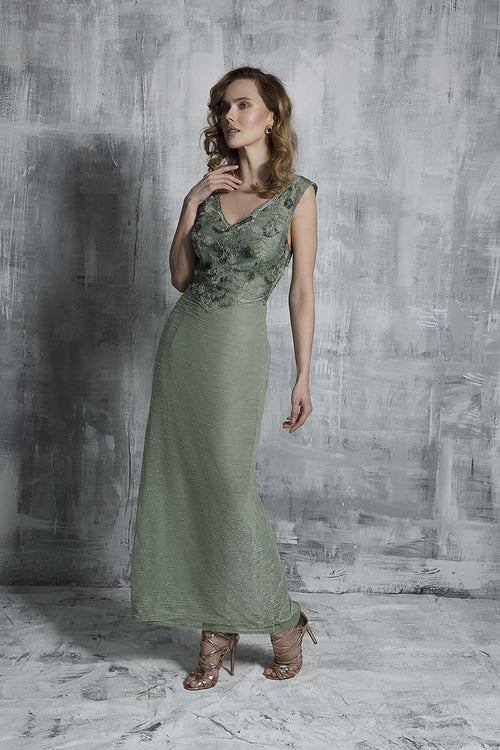 Dream Green Evening Dress