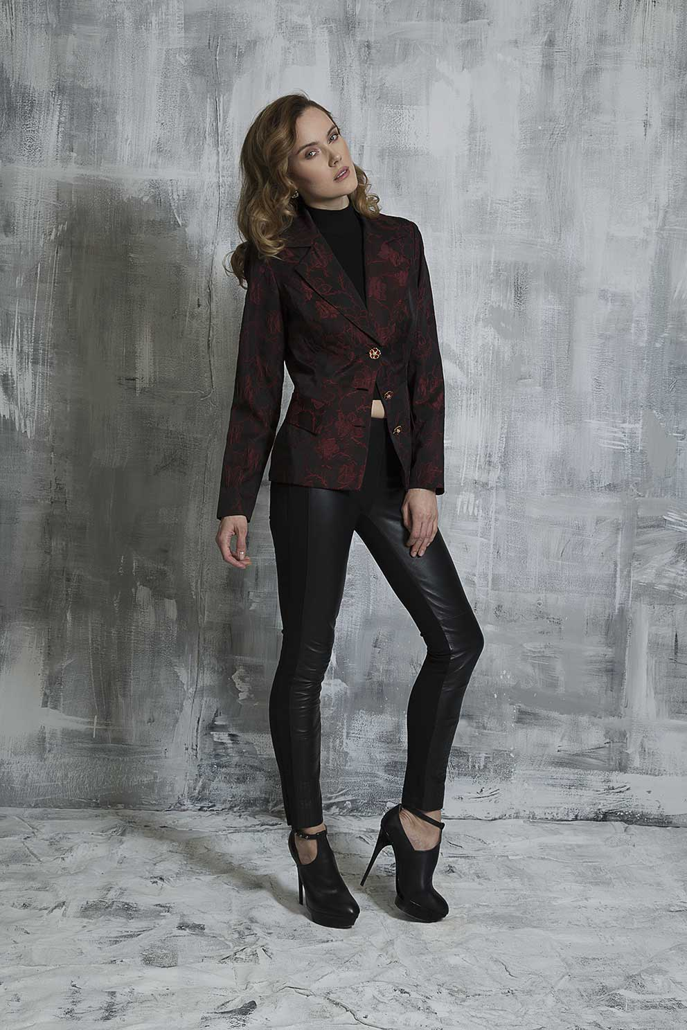 Bordo in Bloom Jacket