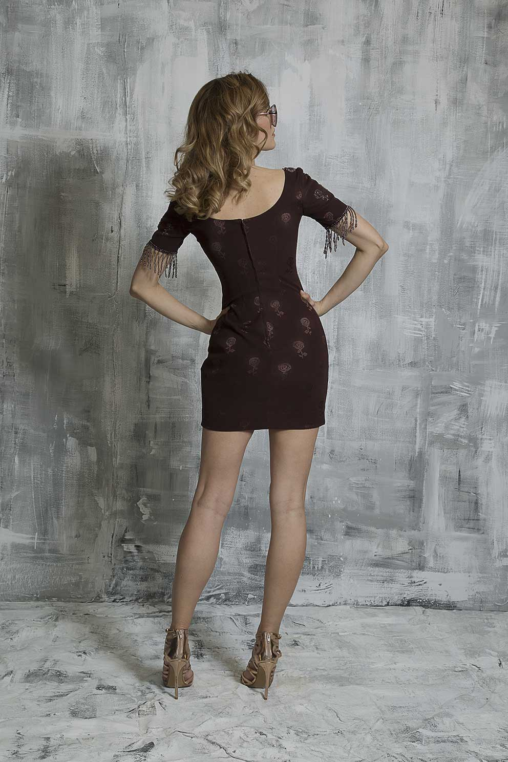 Le Chocolat Mini Dress