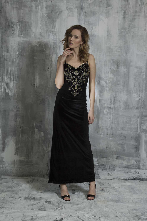 Ebony Dream Evening Dress