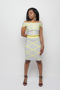 Bandage Skirt Set