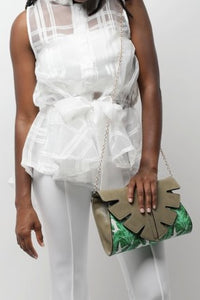 Palm Leaves Handbag