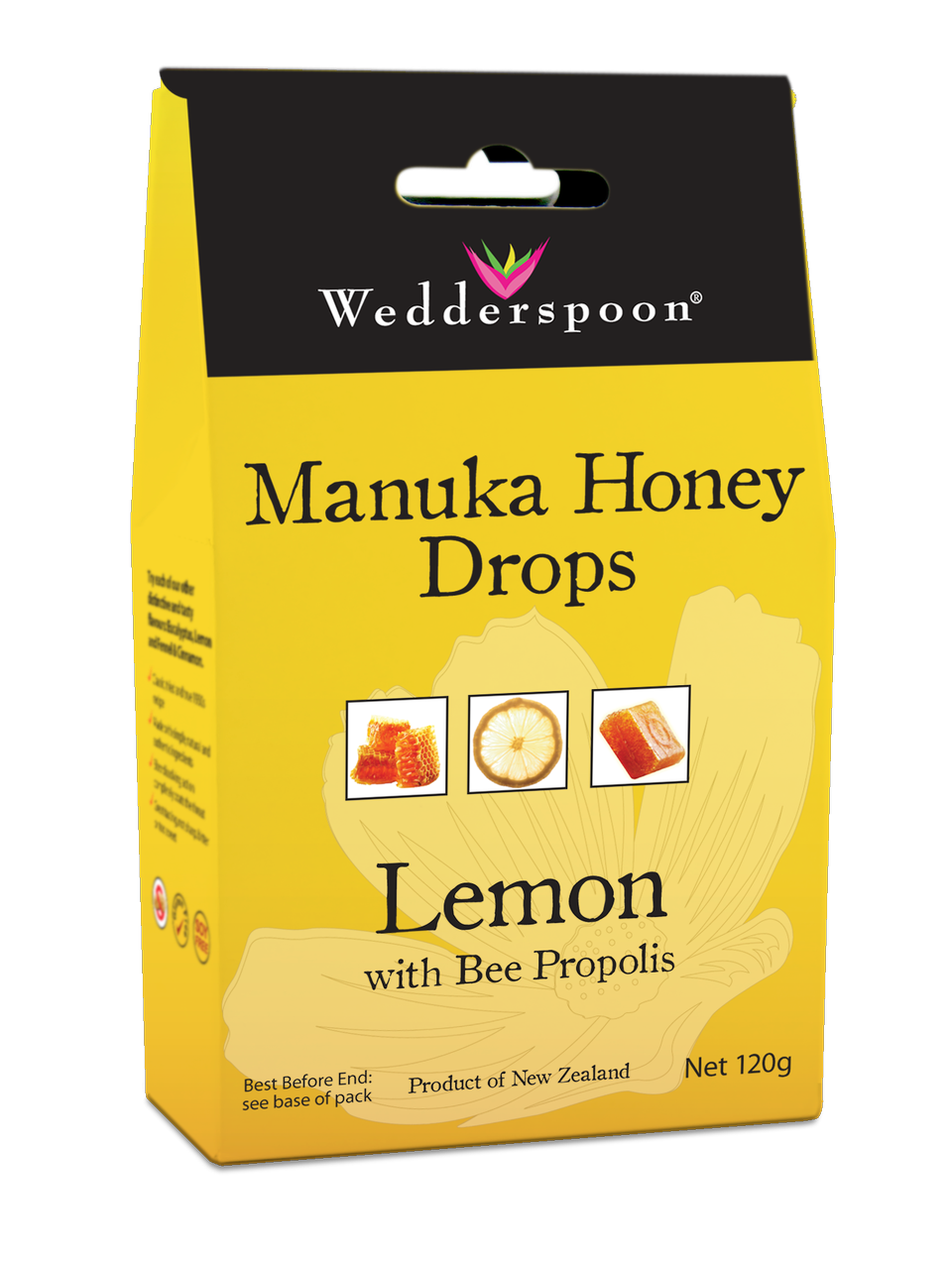 Manuka Drops Lemon & Bee Propolis