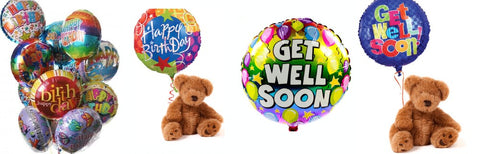 Same Day Delivery Options You Can Still Fit Your Gift To The Occasion With Add Ons Such As Our Birthday Balloons Heart Get Well Soon