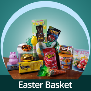 Easter Basket - COVID-19 Care Package - CupcakeDropoff .com