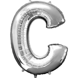 Jumbo Letter C Balloon 36x25 inches - CupcakeDropoff .com