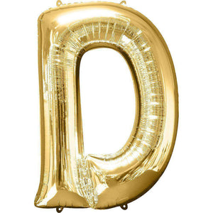 Jumbo Letter D Balloon 36x25 inches - CupcakeDropoff .com