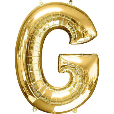 Jumbo Letter G Balloon 36x25 inches - CupcakeDropoff .com