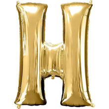 Jumbo Letter H Balloon 36x25 inches - CupcakeDropoff .com