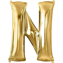 Jumbo Letter N Balloon 36x25 inches - CupcakeDropoff .com