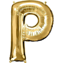 Jumbo Letter P Balloon 36x25 inches - CupcakeDropoff .com