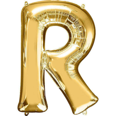 Jumbo Letter R Balloon 36x25 inches - CupcakeDropoff .com