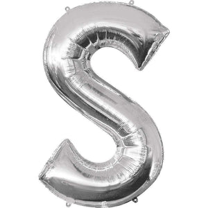 Jumbo Letter S Balloon 36x25 inches - CupcakeDropoff .com