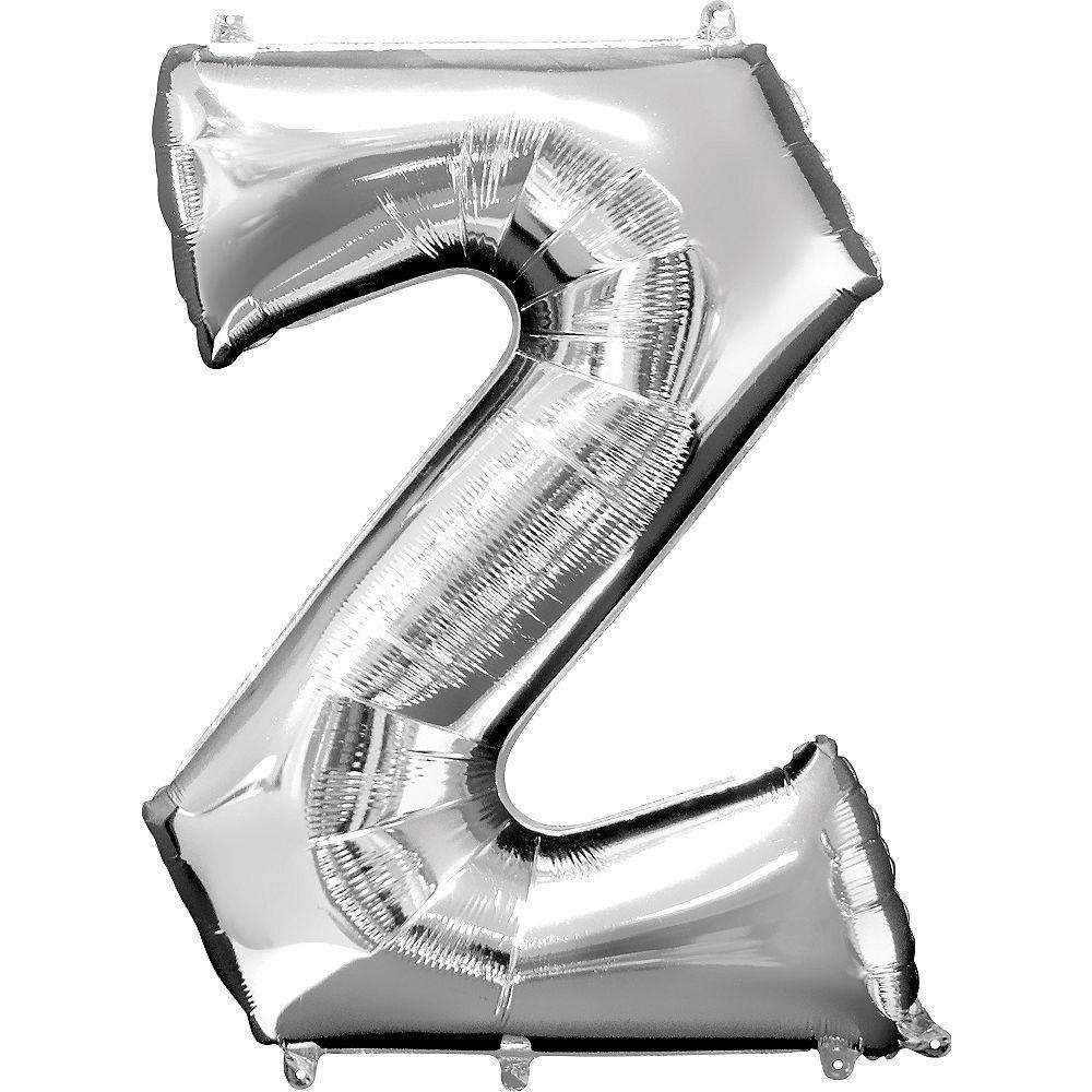 Jumbo Letter Z Balloon 36x25 inches - CupcakeDropoff .com