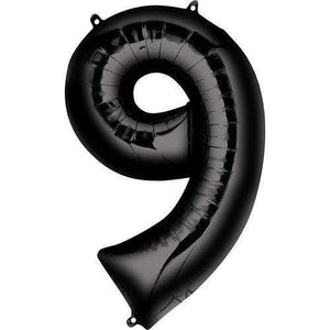 Balloons - Jumbo Number 9 Balloon 36x22 Inches