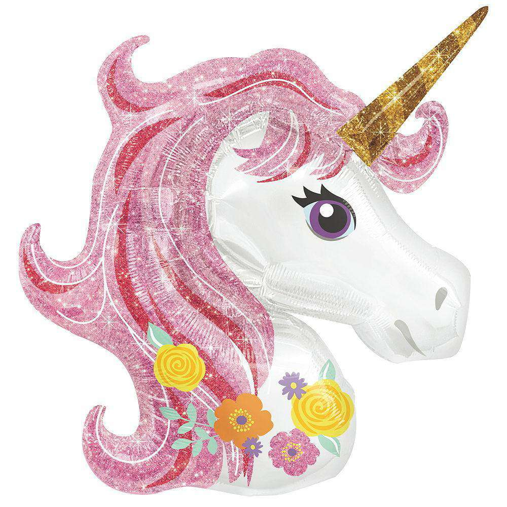 Balloons - Jumbo Unicorn Balloon 33 X 29