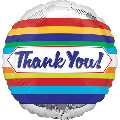 Balloons - Silver Thank You Balloon