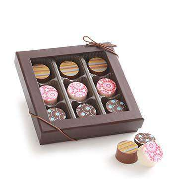 Chocolate - 9pc Artisan Chocolate Truffle Gift Box