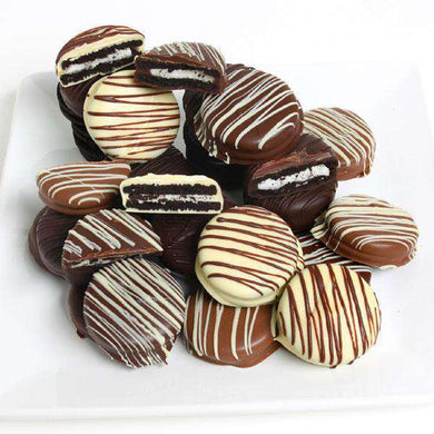 Chocolate Oreos - Triple Chocolate Covered Oreos (12)