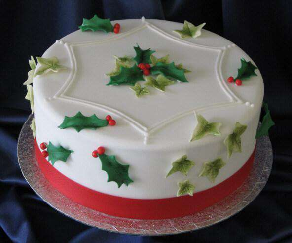 Christmas - Deck The Halls Cake
