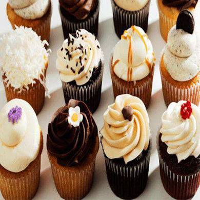 Cupcakes - Bakers Choice 1 Dozen Cupcakes