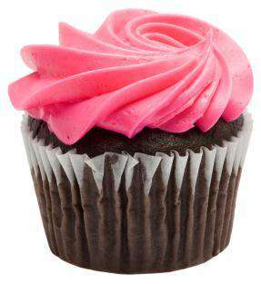 Cupcakes - Chocolate Raspberry Cupcakes (6)