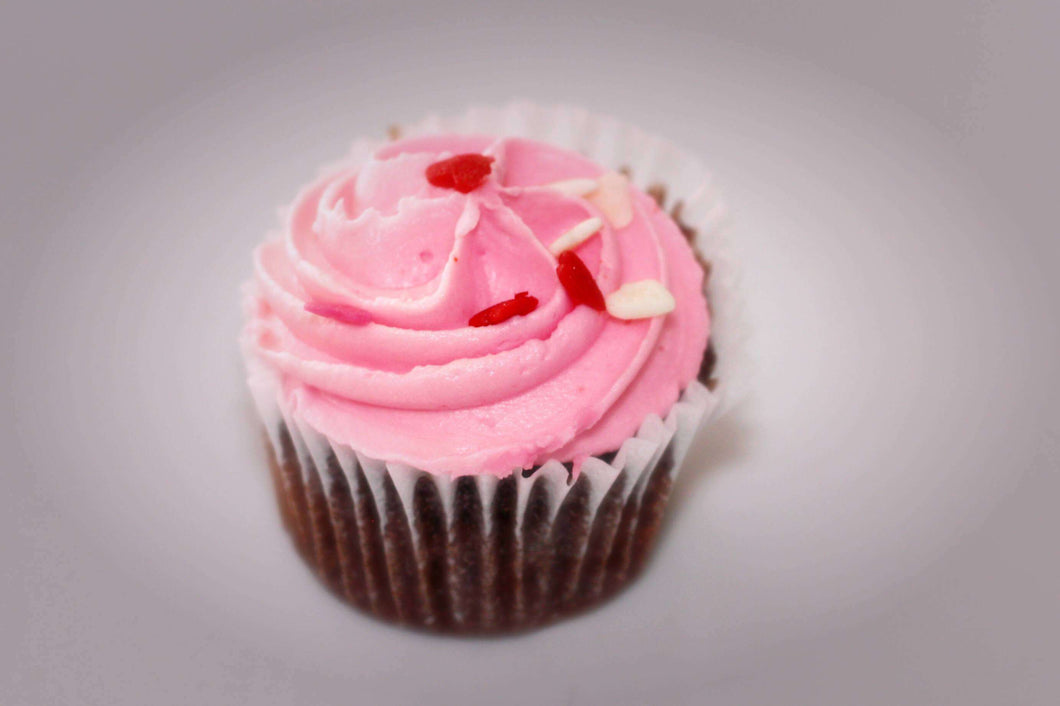 Cupcakes - Chocolate Strawberry Mini Cupcake (12)