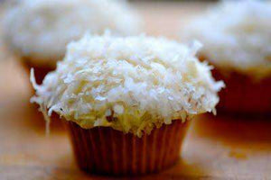 Cupcakes - Lemon Coconut Mini Cupcake (12)