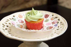 Lemon Lime mini Cupcake (12) - CupcakeDropoff .com