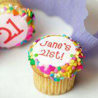 Cupcakes - Personalized Birthday Cupcakes (12)