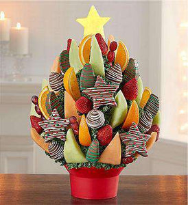 Fruit Bouquets - Christmas Tree Treat