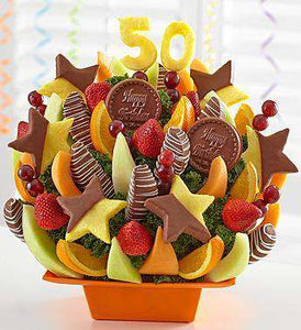 Fruit Bouquets - Milestone Birthday Bash™ 30!, 40!, 50!