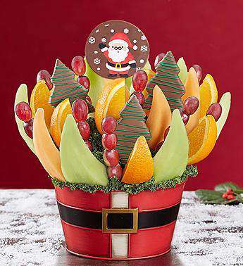Fruit Bouquets - Santa's Holiday Treat