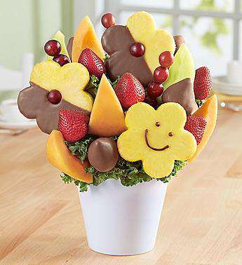 Fruit Bouquets - Your Best Smile Bouquet® With Chocolate