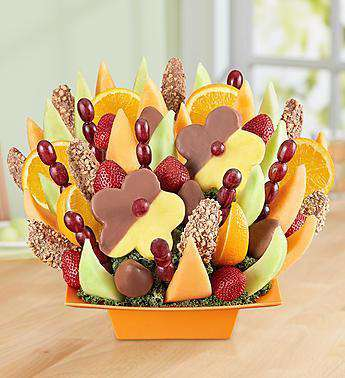 Mothers Day - Abundant Fruit And Chocolate Tray By Fruit Bouquets