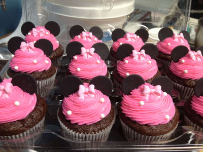 Occasions - Pink Polka Dot Cupcakes (12)