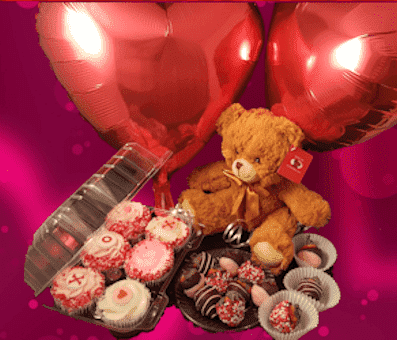 Ultimate Expression of Love - Valentines Package - CupcakeDropoff .com